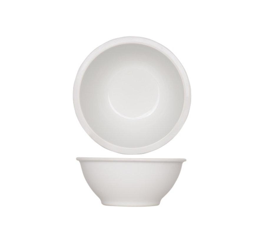 Cosy & Trendy Pleasure witte schaal d13xh5,5cm, 12 maal 1 stuk