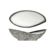 Cosy & Trendy Cosy & Trendy Sea pearl schaaltje ovaal 10x5xh3cm, 12 maal 1 stuk