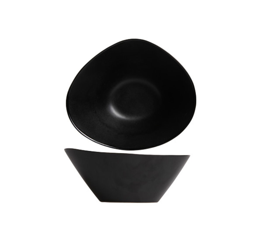 Cosy & Trendy Vongola slakom zwart 20,3x17,8xh8,3cm, 4 maal 1 stuk