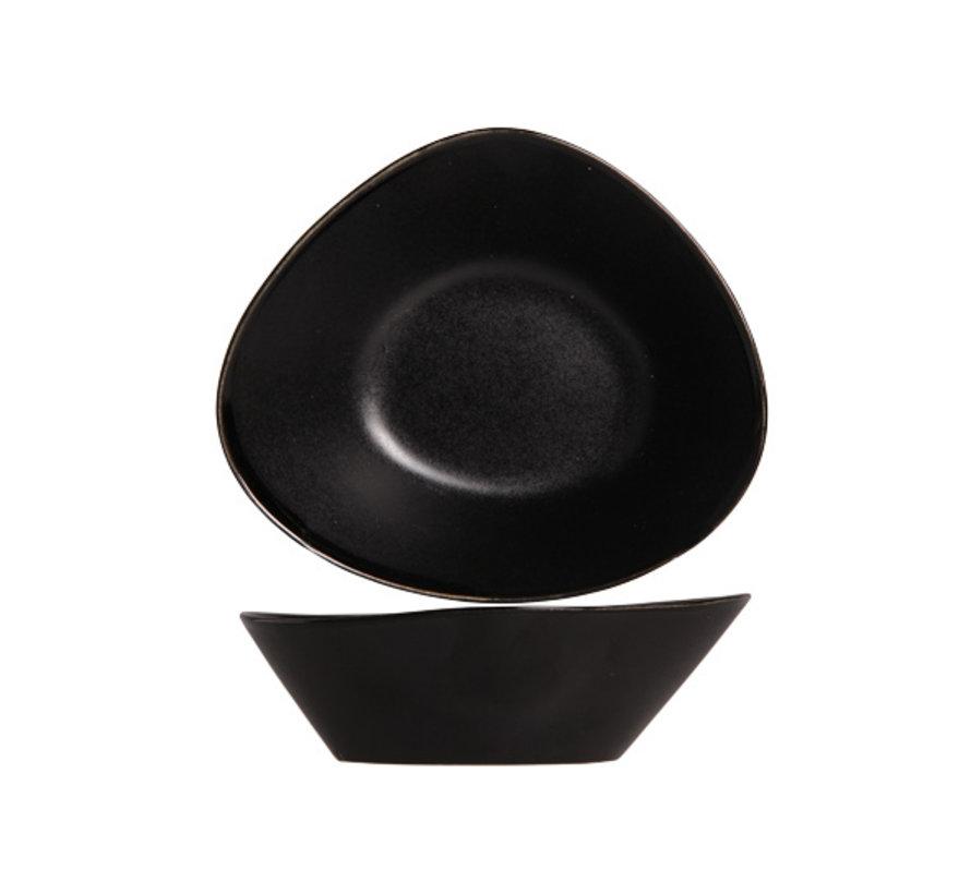Cosy & Trendy Vongola slakom zwart 14x12xh4,5cm, 6 maal 1 stuk