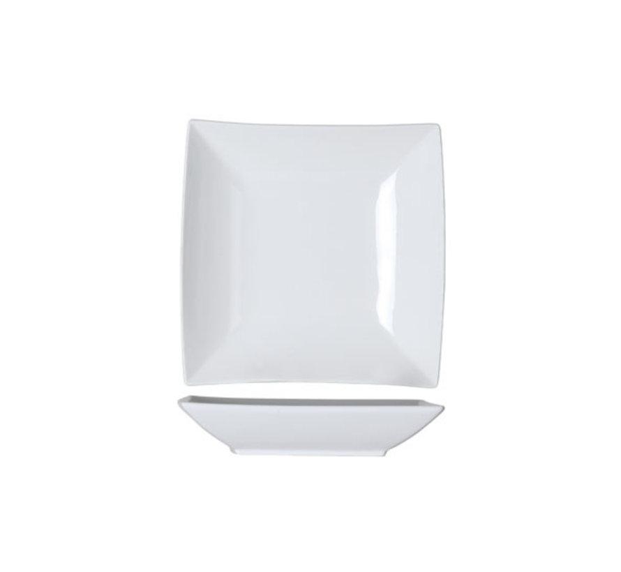 Cosy & Trendy Avantgarde diep bord 22,5x22,5cm nbc, 6 maal 1 stuk