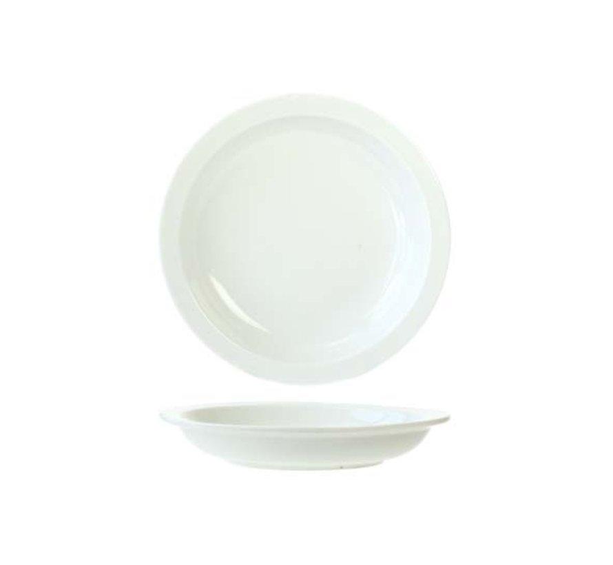 Cosy & Trendy Everyday witte diep bord d21cm, 6 maal 1 stuk