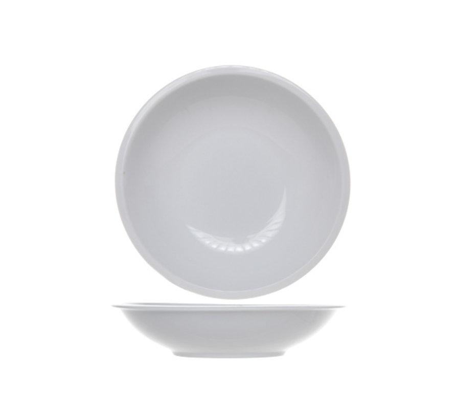Cosy & Trendy Pleasure witte diep bord 20cm, 4 maal 6 stuks