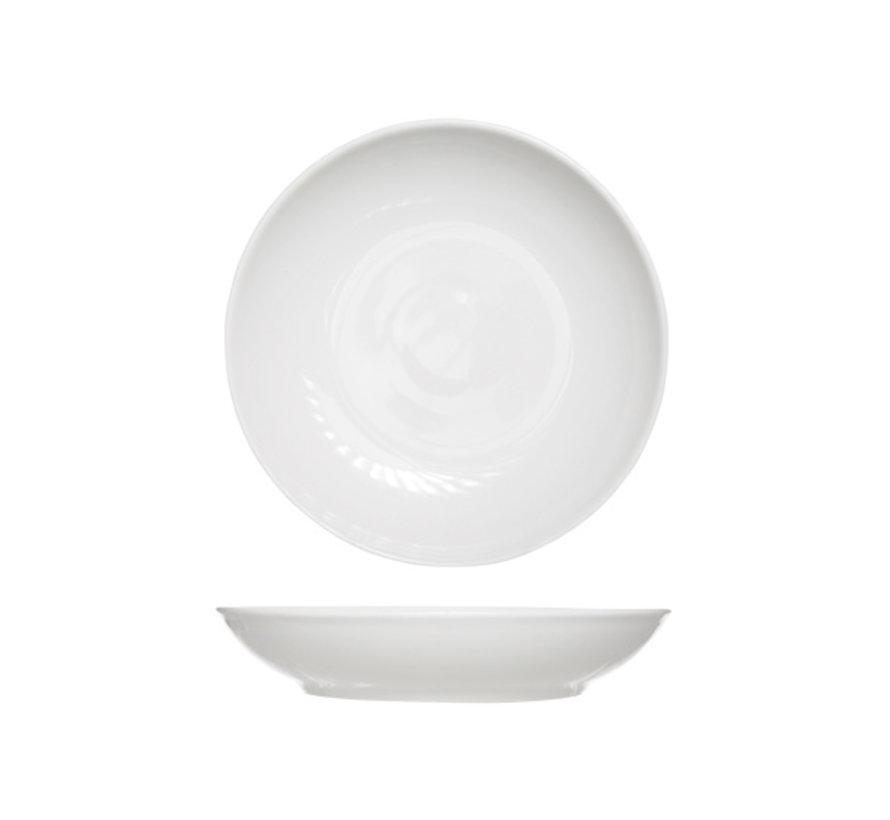 Cosy & Trendy Multi diep bord wit d26cm porselein, 6 maal 1 stuk