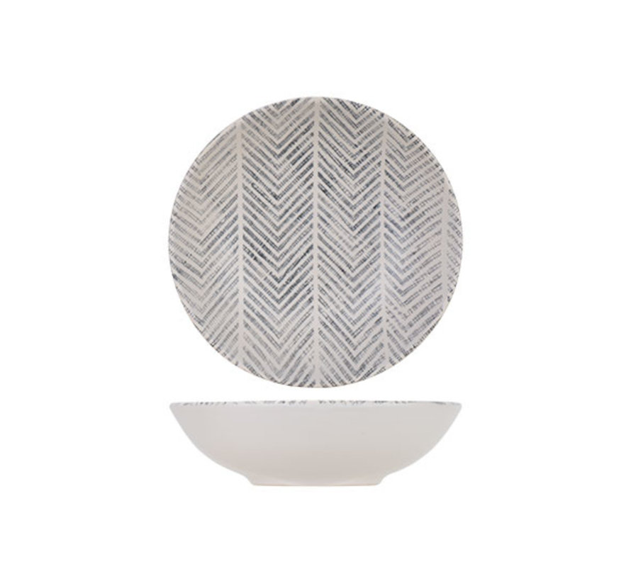 Cosy & Trendy Stone tribu alfa diep bord d22 cm, 12 maal 1 stuk