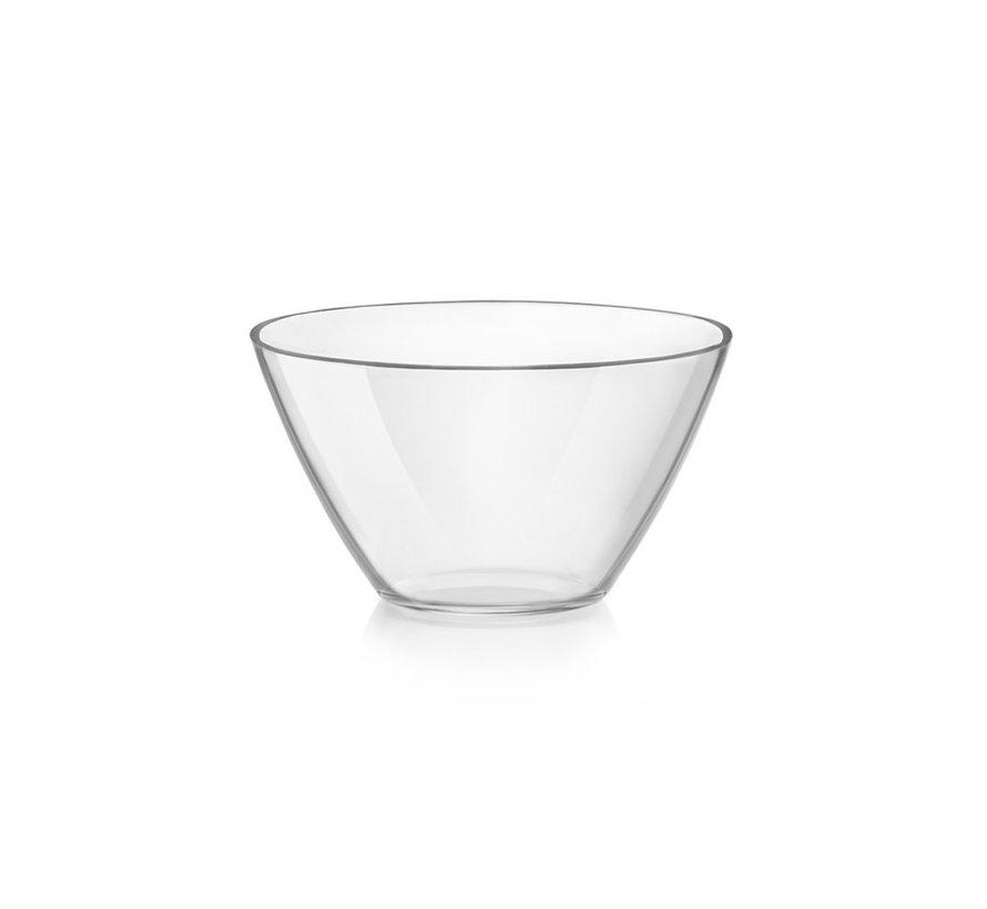 Bormioli Rocco Basic saladier glas 13cm 450ml, 6 maal 1 stuk