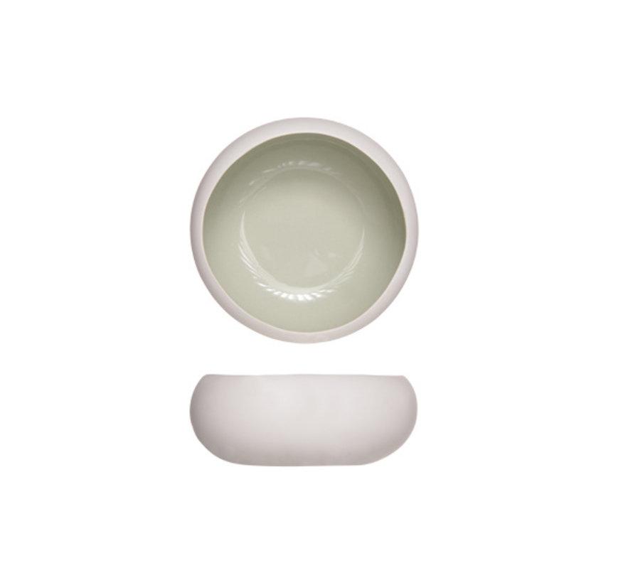 Cosy & Trendy Bao powder green schaal d12xh4,5cm, 4 maal 1 stuk