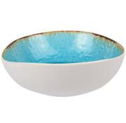Cosy & Trendy Cosy & Trendy Laguna azzurro slakom d19x17,5xh6cm, 6 maal 1 stuk