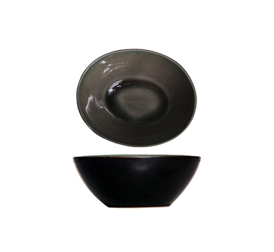 Cosy & Trendy Laguna verde schaal 10,5x9xh4cm, 12 maal 1 stuk