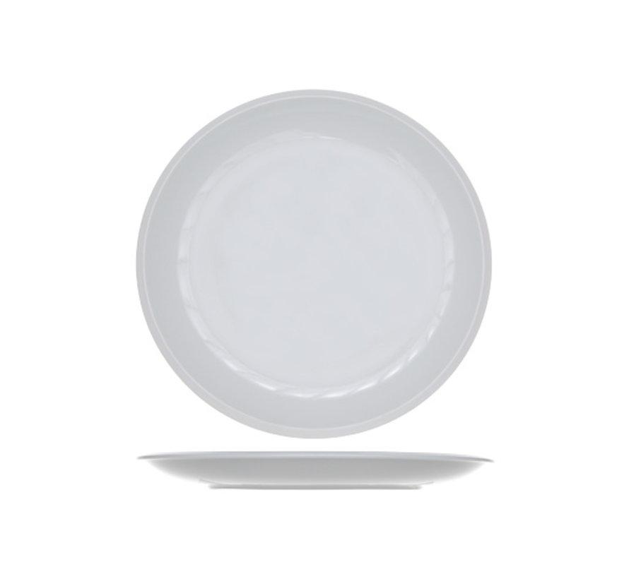 Cosy & Trendy Pleasure witte plat bord 30,5cm, 6 maal 1 stuk