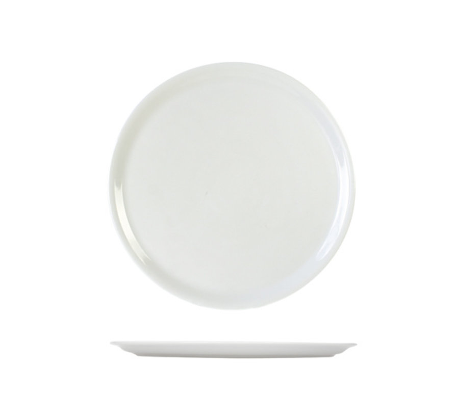 Cosy & Trendy Saturnia pizzabord wit d31cm, 6 maal 1 stuk