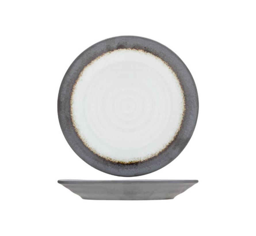 Cosy & Trendy Stone schotel-broodbordje d15cm, 6 maal 1 stuk
