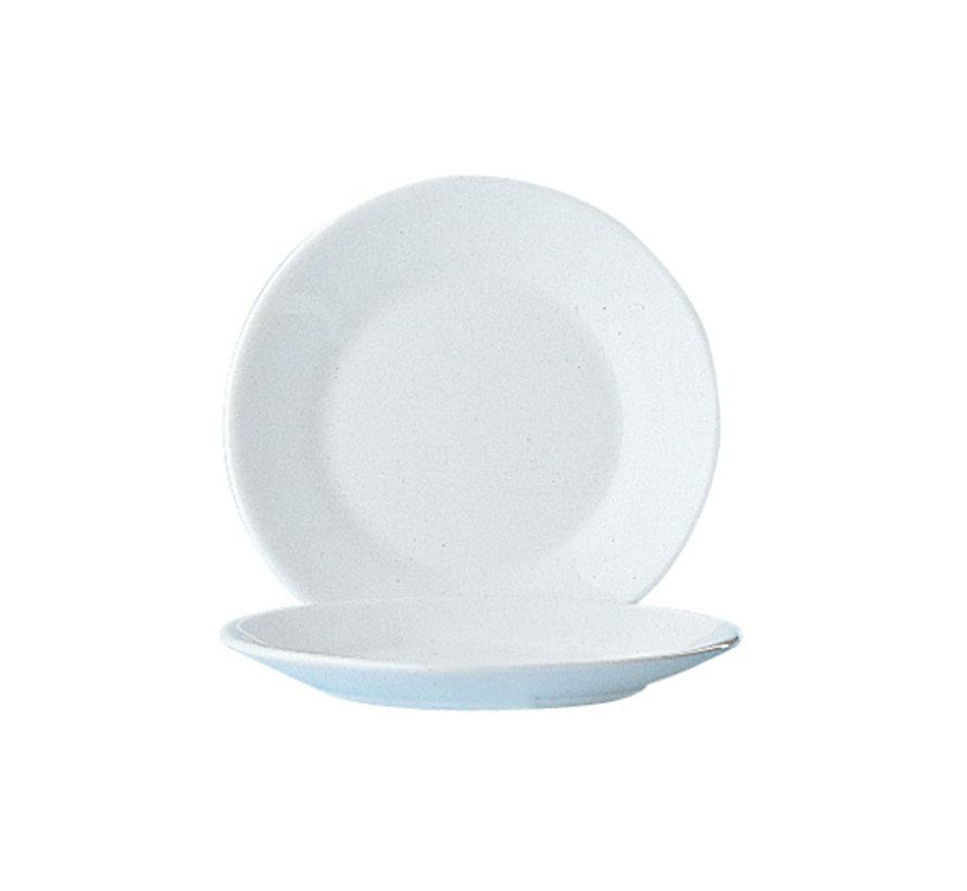 Arcoroc Restaurant uni dessertbord 19,5 cmhoreca, 6 maal 1 stuk