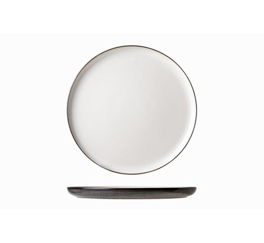 Cosy & Trendy Ciel blanc dessert bord d22cm, 6 maal 1 stuk