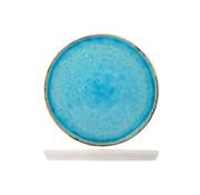 Cosy & Trendy Cosy & Trendy Laguna azzurro dessertbord 21,5cm rond, 6 maal 1 stuk
