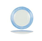 Arcoroc Arcoroc Brush plat bord blauw 25,4cm, 6 maal 1 stuk