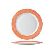 Arcoroc Arcoroc Brush plat bord oranje 25,4cm horeca, 6 stuks