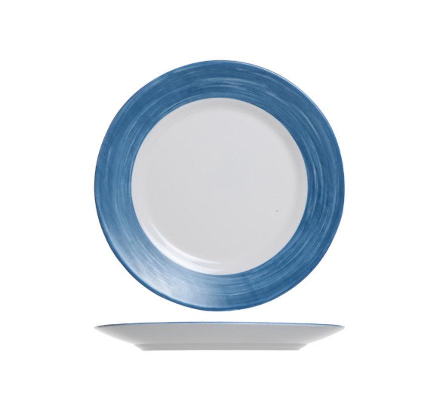 Arcoroc Brush bord jeansblauw 25cm, 6 stuks