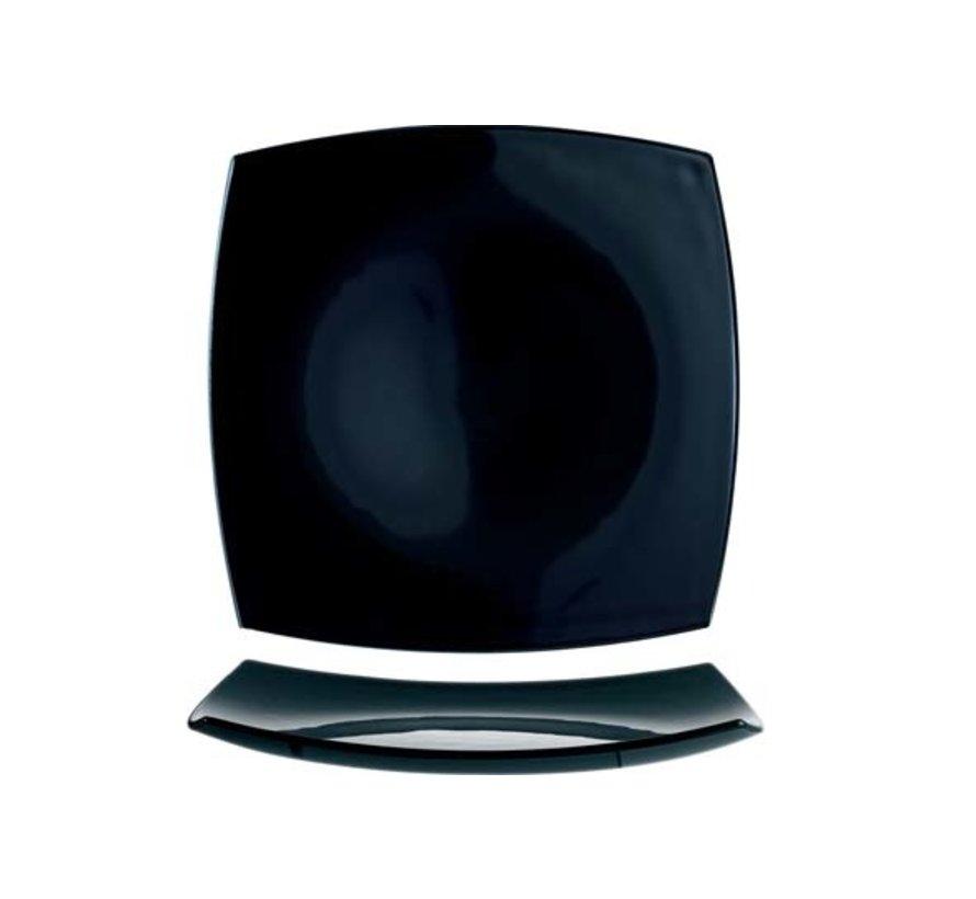 Arcoroc Delice plat bord zwart 26cm vk horeca, 6 maal 1 stuk
