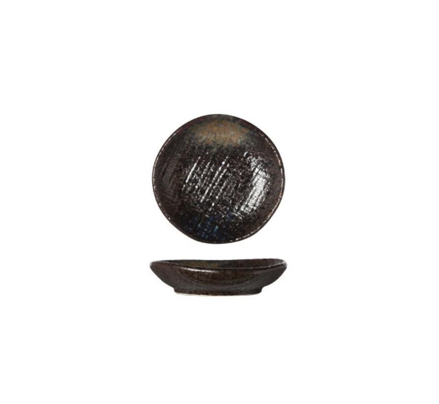 Cosy & Trendy Black yoru bord 8cm, 12 maal 1 stuk