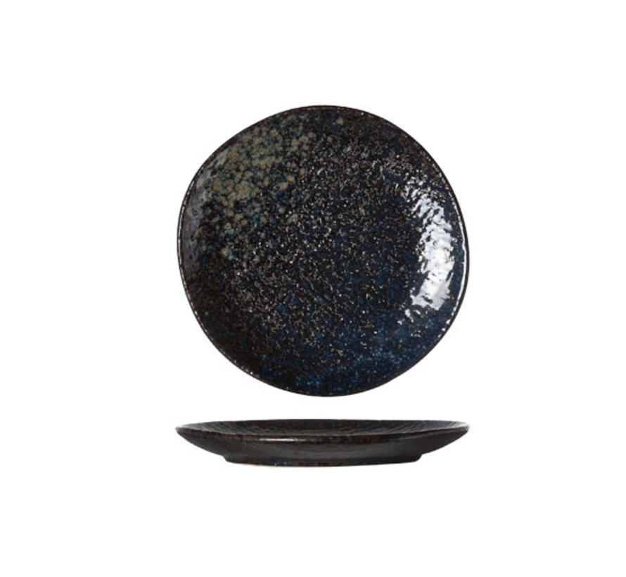 Cosy & Trendy Black yoru bord 14cm, 6 maal 1 stuk