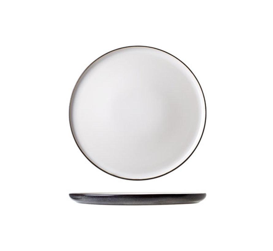 Cosy & Trendy Ciel blanc plat bord d27,5cm, 4 maal 1 stuk