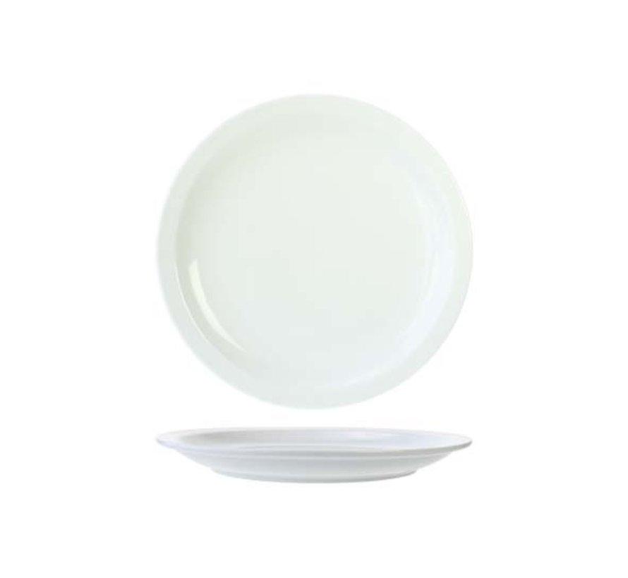 Cosy & Trendy Everyday witte plat bord 29,5cm, 6 maal 1 stuk