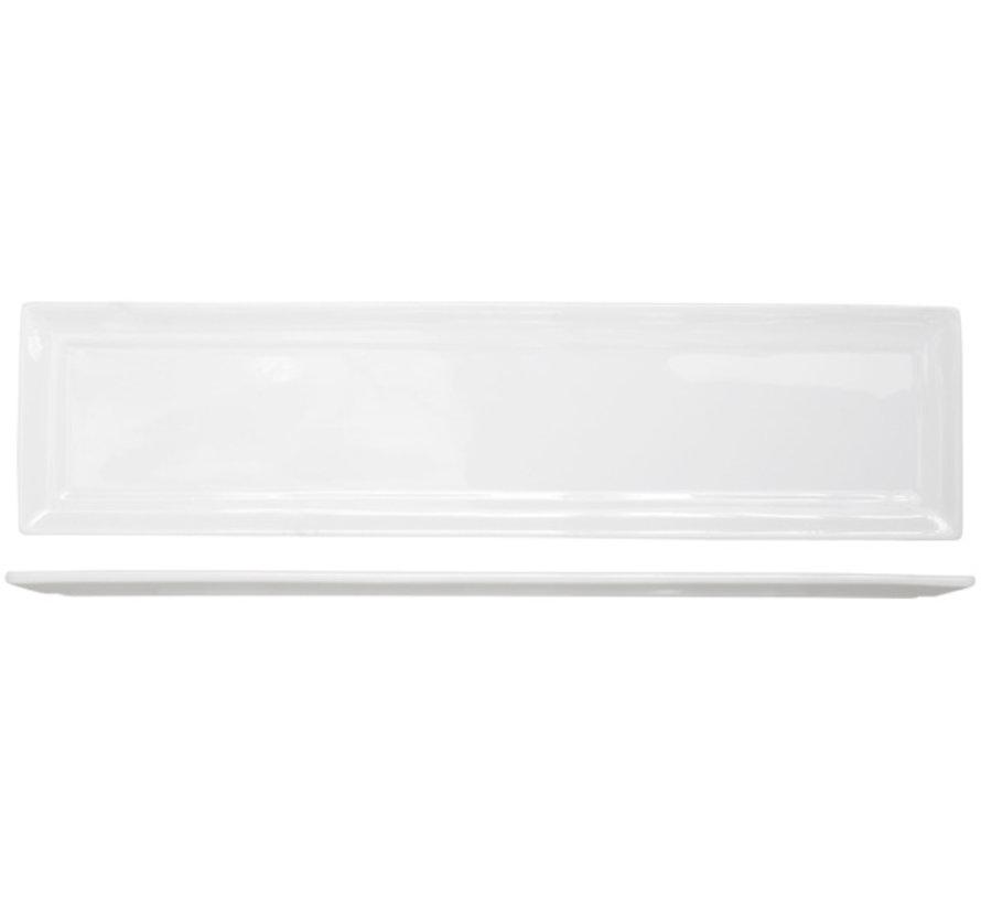 Cosy & Trendy Kara plat bord 9x36,3cm rechthoekig, 6 maal 1 stuk