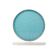 Cosy & Trendy Cosy & Trendy Laguna azzurro plat bord 27cm rond, 4 maal 1 stuk