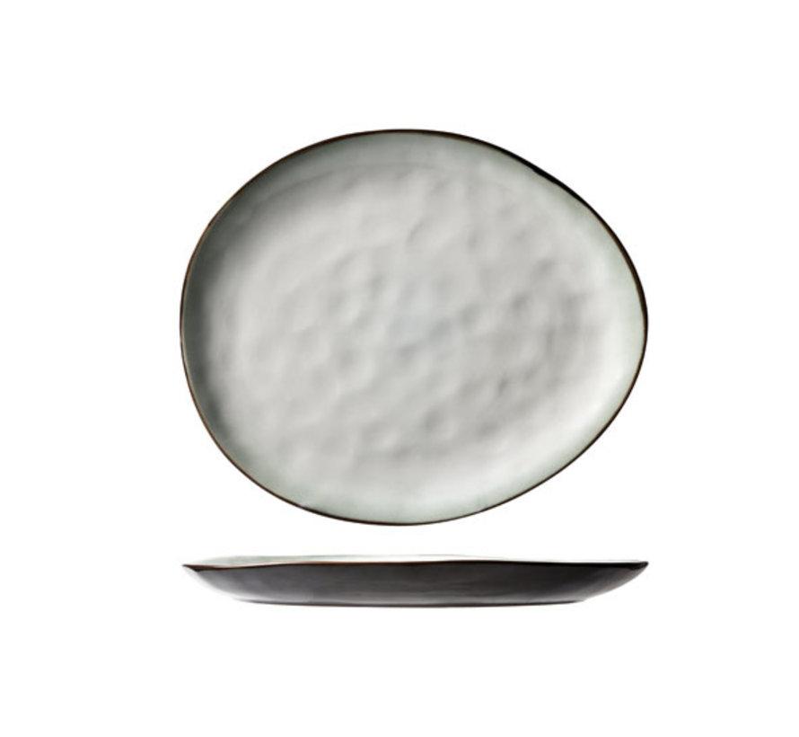 Cosy & Trendy Plato bord ovaal 27x23cm, 4 maal 1 stuk