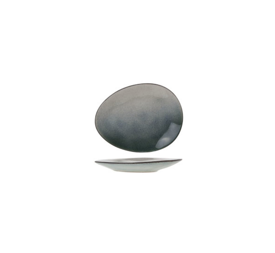 Cosy & Trendy Spiaggia mini-bordje ovaal 10,5x8cm, 12 maal 1 stuk