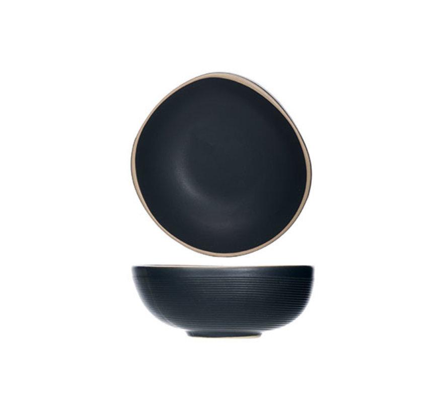 Cosy & Trendy Galloway zwarte schaaltje 12xh4,7cm, 6 maal 1 stuk