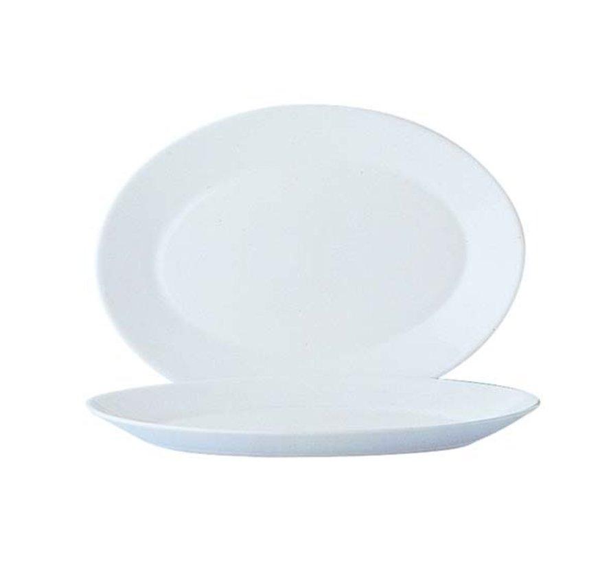 Arcoroc Restaurant uni bord 29cm ovaal horeca, 6 stuks