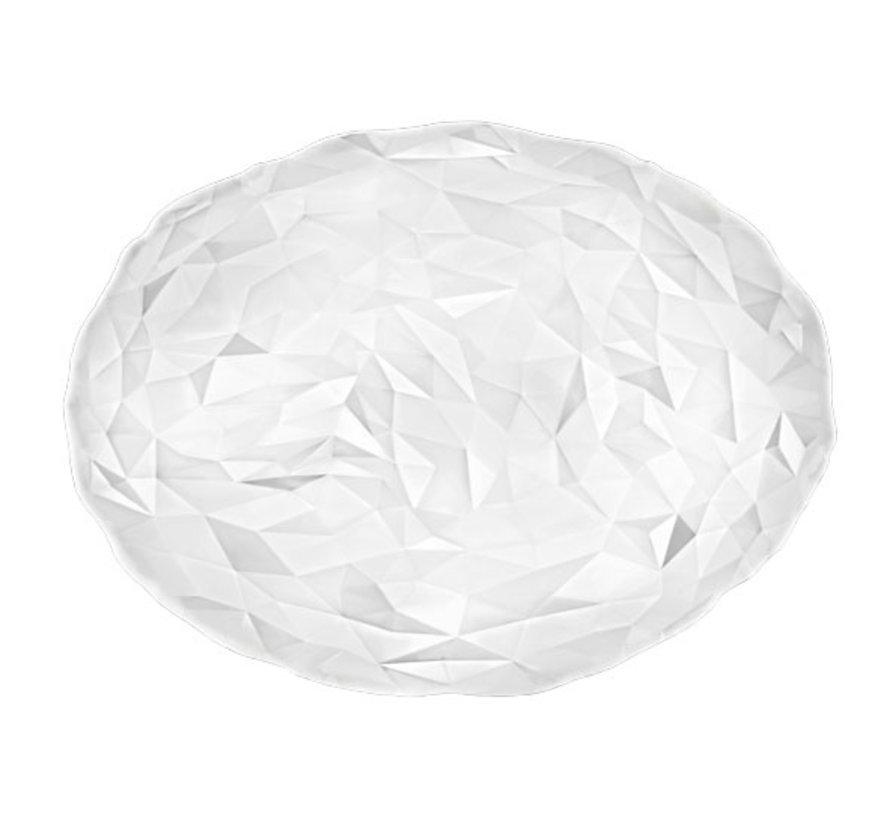 Bormioli Rocco Diamond ovale schotel 35x26 transparant, 6 maal 1 stuk