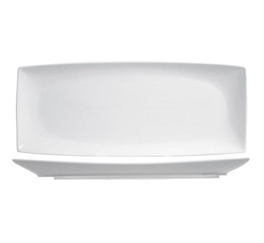 Cosy & Trendy Avantgarde plat bord 30,5x13cm rechthoek, 6 maal 1 stuk