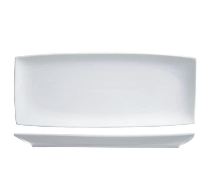 Cosy & Trendy Avantgarde plat bord 25x10,5cm rechthoek, 6 maal 1 stuk