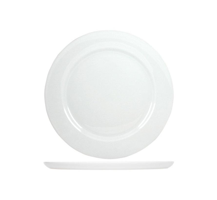 Cosy & Trendy Pizza-pannenkoekbord wit 30cm, 6 maal 1 stuk