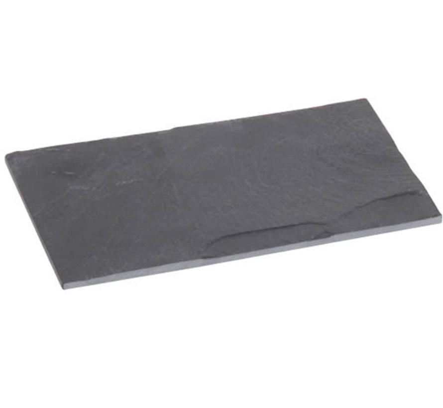 Cosy & Trendy Leisteen bord 18x11cm, 20 maal 1 stuk