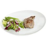 Cosy & Trendy Cosy & Trendy Saturnia steak-visbord wit 30,5cm, 6 maal 1 stuk