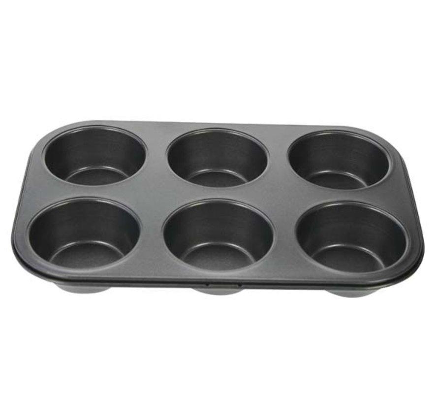 Cosy & Trendy Bakvorm 6 muffins 27x18,3cm, 1 stuk