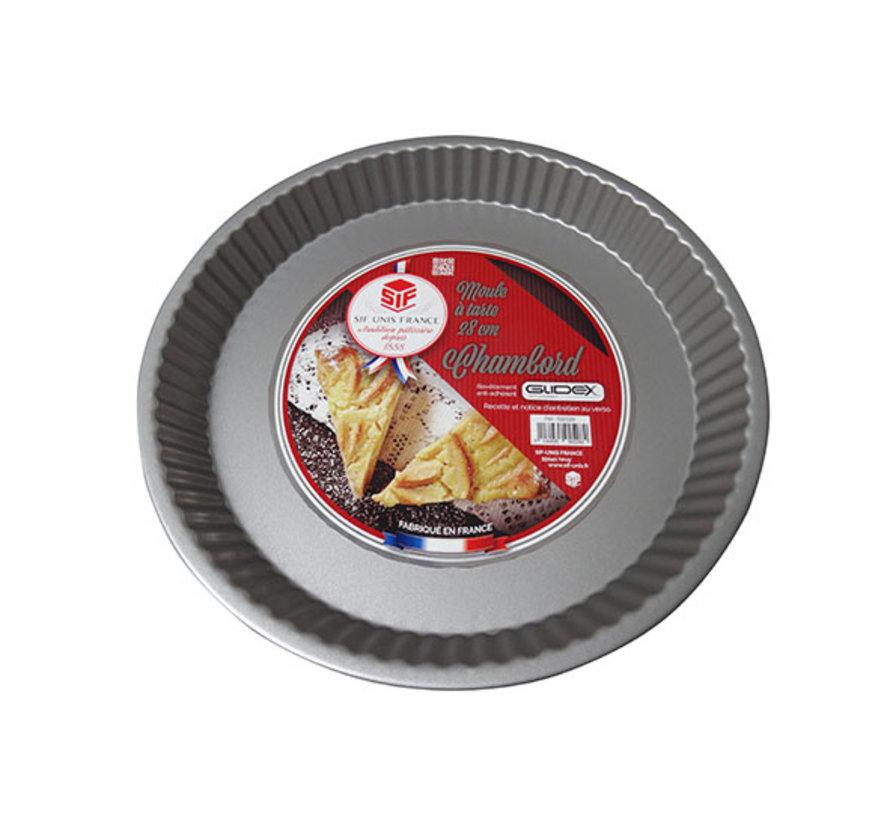 Chambord taartvorm diameter 28cm, 1 stuk