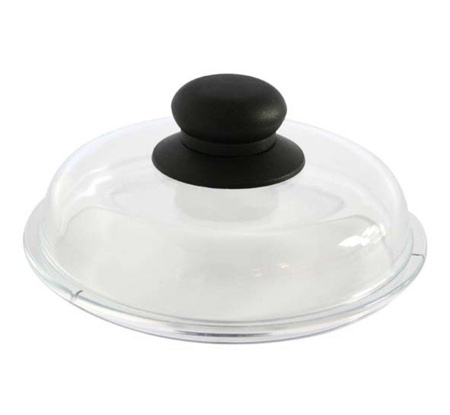Cosy & Trendy Borosilicate deksel d16cm glas, 1 stuk