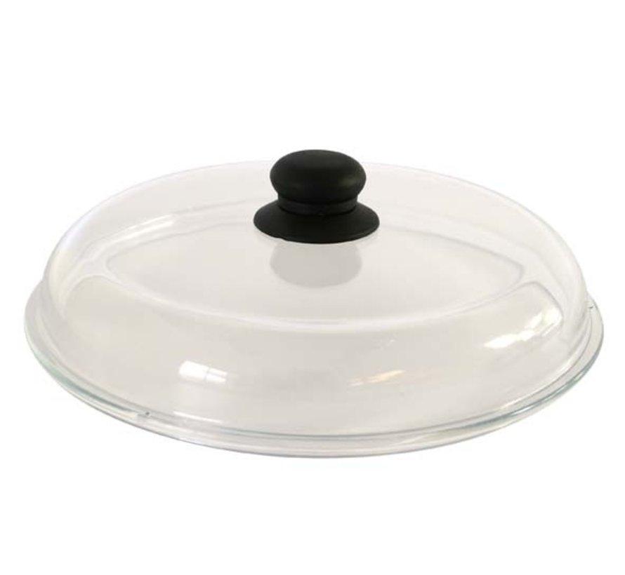Cosy & Trendy Borosilicate deksel d28cm glas, 1 stuk