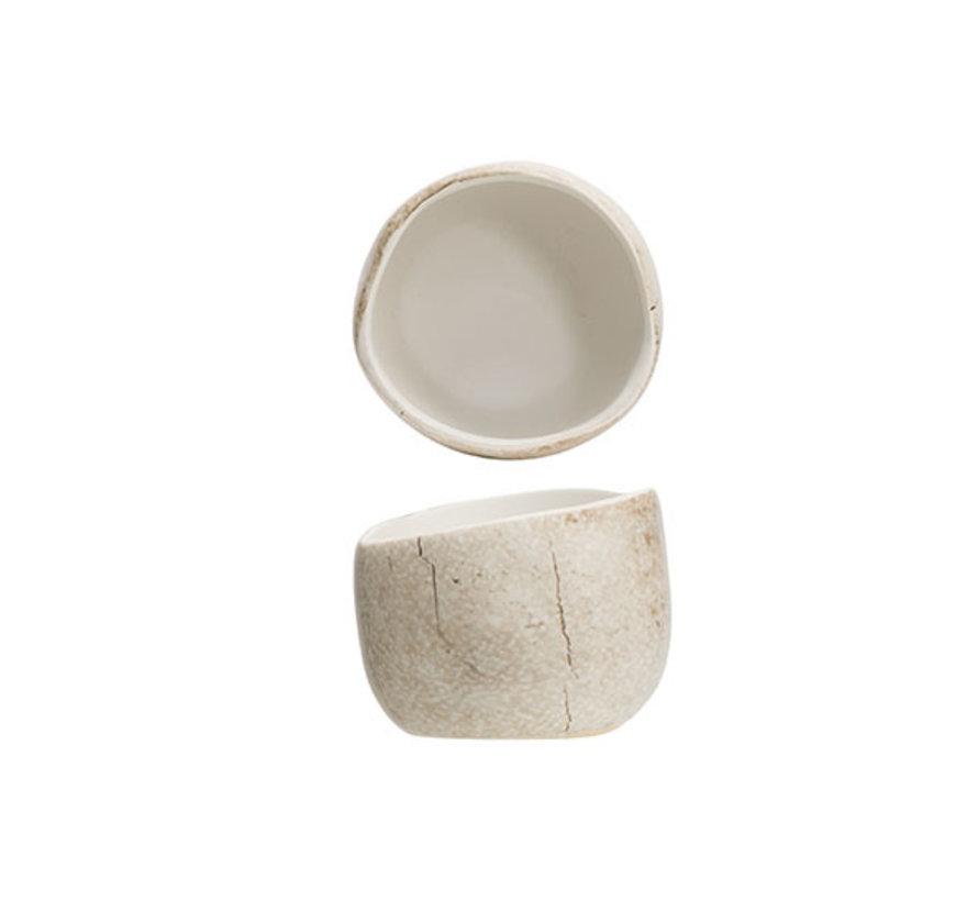 Cosy & Trendy Lithos apero-potje d6,5xh5,2cm, 1 stuk