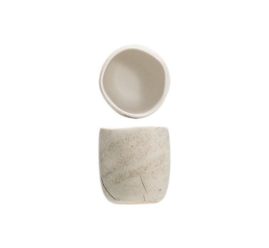 Cosy & Trendy Lithos apero-potje d6,5xh7cm, 1 stuk