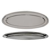 Cosy & Trendy Cosy & Trendy Serveerschaal rvs ovaal 50cm, 1 stuk