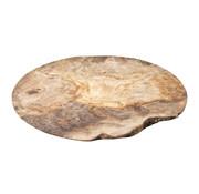 Cosy & Trendy Cosy & Trendy Bord 28cm olijfhout, 1 stuk