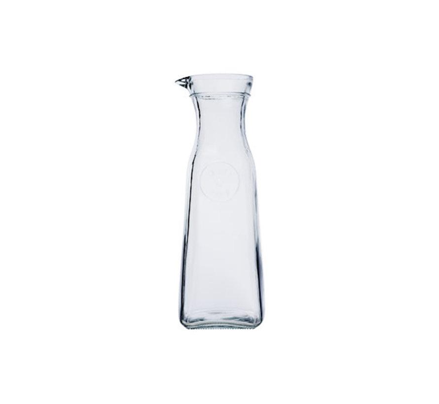Cosy & Trendy Karaf glas 1l 9,2x9,2x26,8cm, 1 stuk
