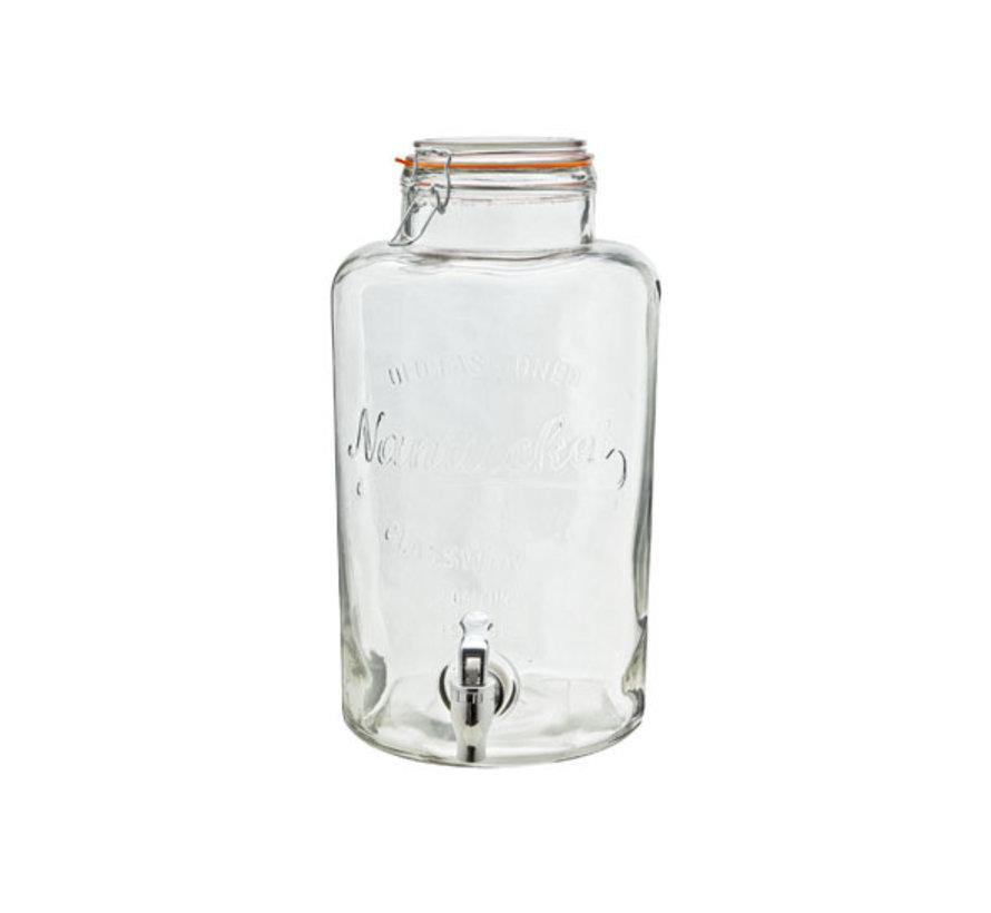 Cosy & Trendy Sapdispenser 8,5 liter d21cm, 1 stuk