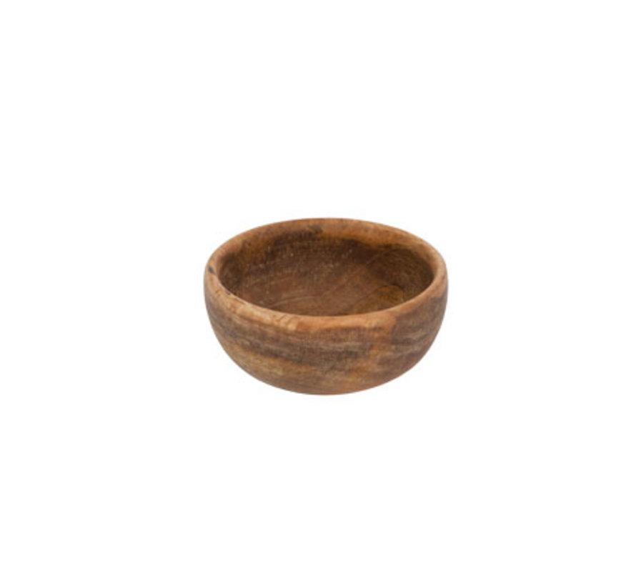 Cosy & Trendy Bowl mangohout d15 x h7cm, 1 stuk